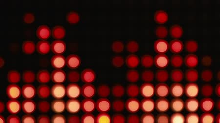 боке : Abstract orange bokeh lights background for party Стоковые видеозаписи