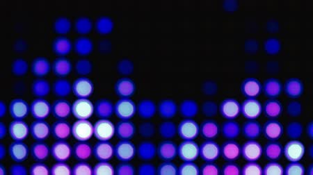 bolha : Abstract violet bokeh lights background for party