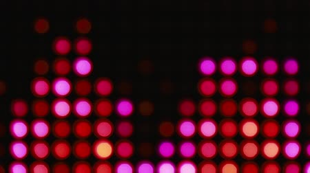bolha : Abstract pink and orange bokeh lights background for party