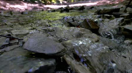 akan : Mountains stones river water close-up wild beautiful nature