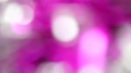 Pink Abstract blured light bokeh lights rotation background Стоковые видеозаписи