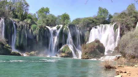 bosnia and herzegovina : Waterfall at river in Bosnia and Herzegovina