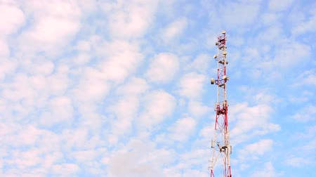 Mobile phone communication celullar radio tower, microwave antenna, transmitter