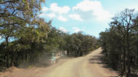 Offroad calle Archivo de Video