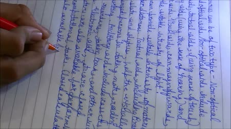 írás : Hand writing English-Time Lapse