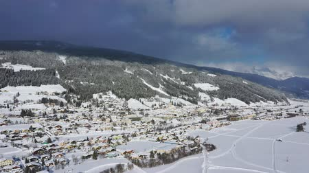Radstadt, Pongau in Salzburg, Austria during winter
