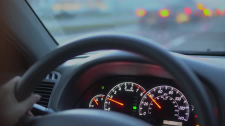 mph : Prefabricated car panel while driving. Stock Footage