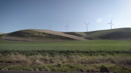 Wind energy farm in Eastern Washington