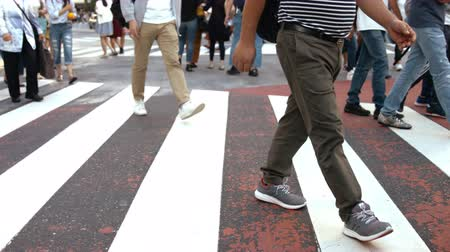 bulutluluk : Its a slow motion video that people took on crosswalk in Shibuya Tokyo. On the day of summer cloudy.