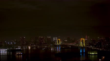 Night view of Tokyo taken from Tokyo Bay Area