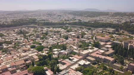 rhodes : Aerial view of Rhodes cirty