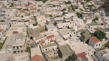 rhodes : Aerial view of Lindos