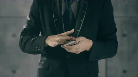 gesture pack : Magicians Hands Performing Card Trick Stock Footage