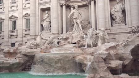triton : Trevi fountain in Rome
