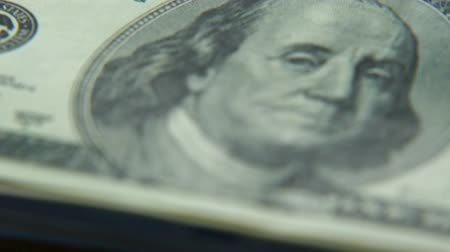 Gold bitcoins and dollars. New and old money. Virtual money Stock Footage