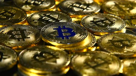 Gold coins bitcoin. New Virtual Money