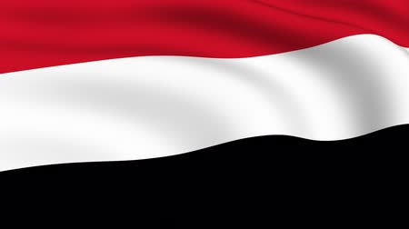 yemen : Flying Flag of YEMEN | LOOPED |