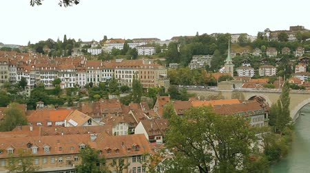 švýcarský : View of the Old City of Berne in Switzerland Dostupné videozáznamy