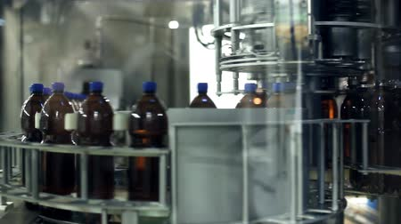 A machine for the production of plastic bottles