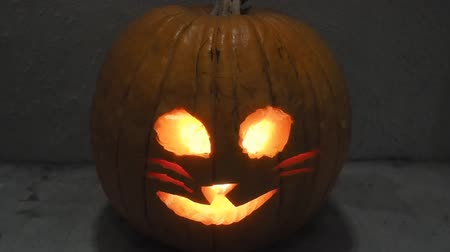 társult : Jack-o-lantern is a carved pumpkin, associated chiefly with the holiday of Halloween.