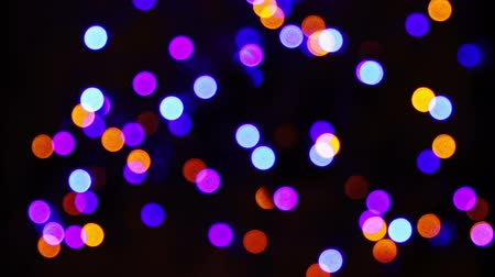 korkak : Out Of Focus Christmas Lights