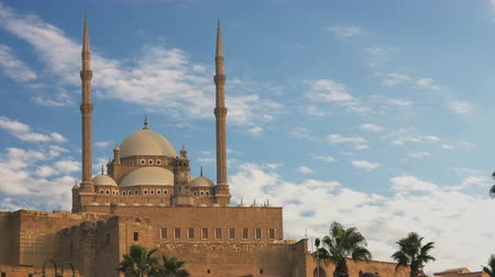 muhammad ali : The Mosque of Muhammad Ali Pasha. Egypt. Time Lapse.