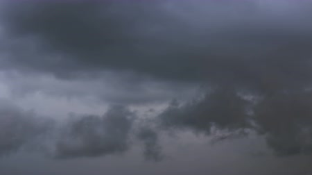 gri arkaplan : Storm clouds. Background. Time Lapse