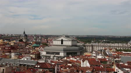 madryt : Madrid Spain. Panorama of the City Wideo