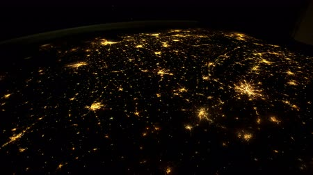 Planet Earth seen from the ISS. Stock Footage