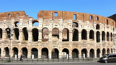 arch of constantine : Colosseum - the main tourist attractions of Rome, Italy. Ancient Rome Ruins of Roman Civilization.