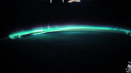 continentes : Planet Earth seen from the ISS. Beautiful Planet Earth observed from space. Nasa time lapse shooting earth from space. Elements of this video furnished by NASA.
