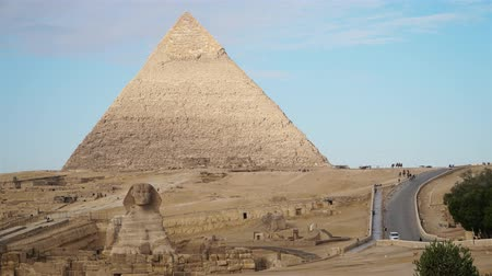 pedras : Timelapse Of The Great Pyramids In Giza Valley, Cairo, Egypt