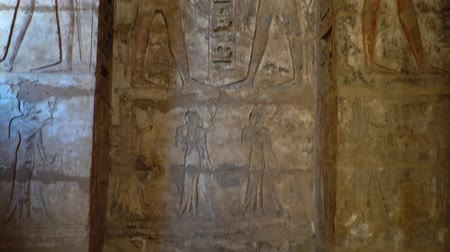 ルクソール : Temple of Medinet Habu. Egypt, Luxor. The Mortuary Temple of Ramesses III at Medinet Habu is an important New Kingdom period structure in the West Bank of Luxor in Egypt.