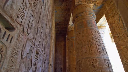 западный : Temple of Medinet Habu. Egypt, Luxor. The Mortuary Temple of Ramesses III at Medinet Habu is an important New Kingdom period structure in the West Bank of Luxor in Egypt.