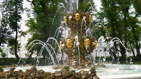 alegorie : ST. PETERSBURG, RUSSIA - JULY 9, 2016: Fountain of the Summer Garden