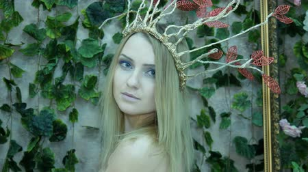enchanted princess : Portrait of a model in the form of Elvish princess