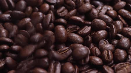 rusticana : coffee beans roasted slow motion