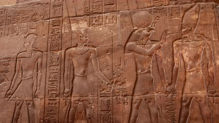 carving : Karnak temple in Luxor, Egypt