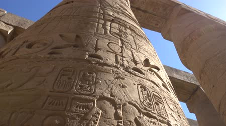 ルクソール : Karnak temple in Luxor, Egypt