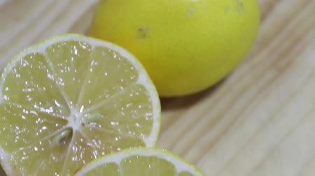 reçel : lemons Stok Video