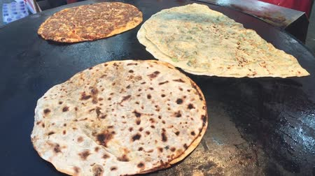 lagmuncun mince meat in paratha