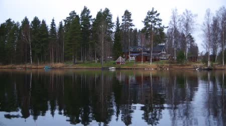 fülke : House near lake