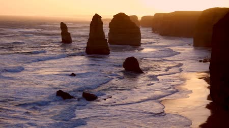 The Twelve Apostles, Australia, at sunset