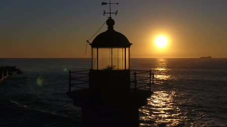 világítótorony : Lighthouse in the Sunset