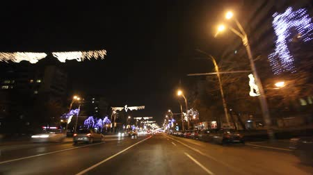 traffic bucharest : Bucharest By Night Before Christmas, December 2011