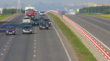 havai : cars traveling on highway - timelapse