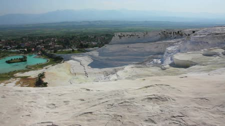 cálcio : panorama of pamukkale turkey