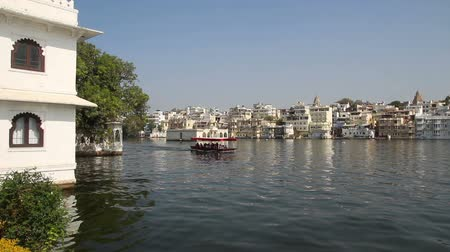 indian ethnicity : Pichola lake in Udaipur India