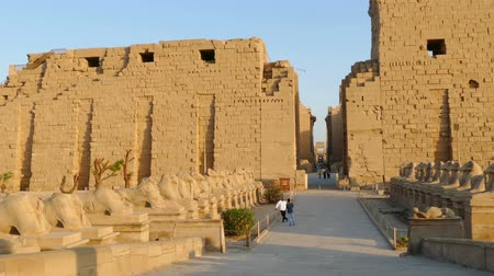 egyiptomi : ancient karnak temple in Luxor, Egypt