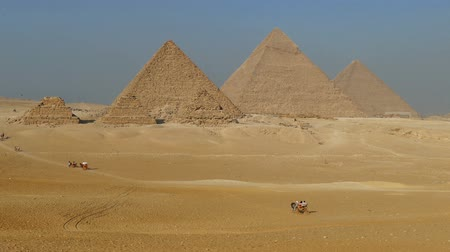 napos : Great pyramids at Giza Cairo in Egypt
